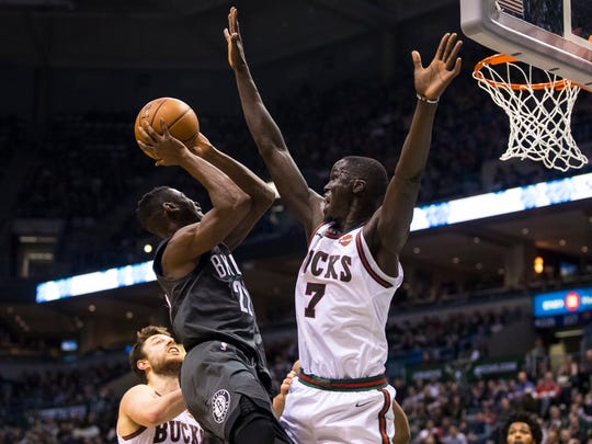 Thon Maker can be a shot-blocking weapon for the Bucks.