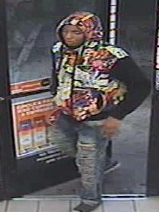 Mesa Robber wearing Marvel Comics hoodie