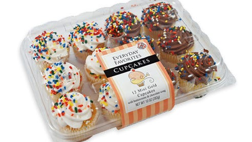 A package of Maplehurst cupcakes.