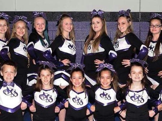 This is the Garden City Force Elite Division 5 team.