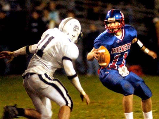Matt Marshall was named honorable mention all-state three times at Spring Grove where he recorded 4,949 career passing yards, 357 completions, and 39 touchdowns.
