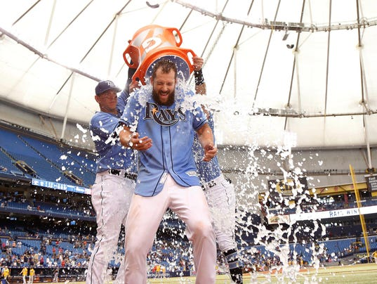MLB: Milwaukee Brewers at Tampa Bay Rays