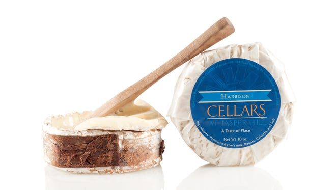 Wedge Cheese Shop in Midtown sells Harbison Cellars, a soft-ripened cheese from highly regarded Jasper Hill Farm in Vermont.   The cheese has a thin rind and a luscious texture fit for a spoon. Harbison is wrapped in spruce cambium (the layer between the spruce bark and wood) from trees in the hills surrounding the farm.   To check availability, call 775-737-4078 or visit in person at 16 St Lawrence Ave. For general information, visit www.wedgecheeseshop.com