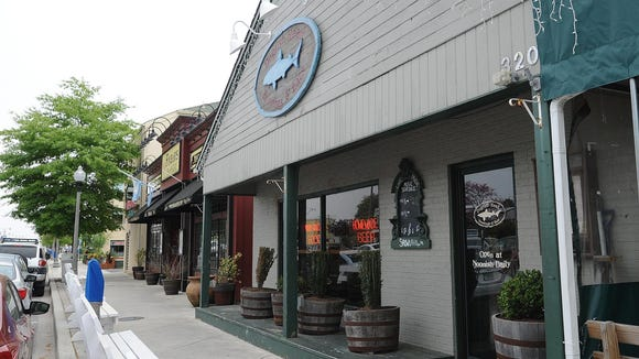 Dogfish Head's brewpub at 320 Rehoboth Ave.