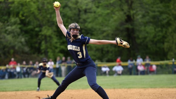 Indian Hills junior pitcher Angela Saric will try to