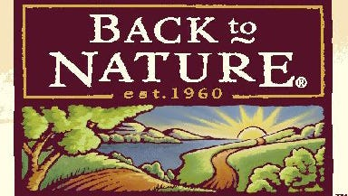 Back to Nature products recalled.