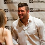 Tim Tebow speaks at CWFCA benefit