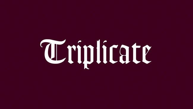 "Bob Dylan's ""Triplicate"" is his third straight album of American pop standards."