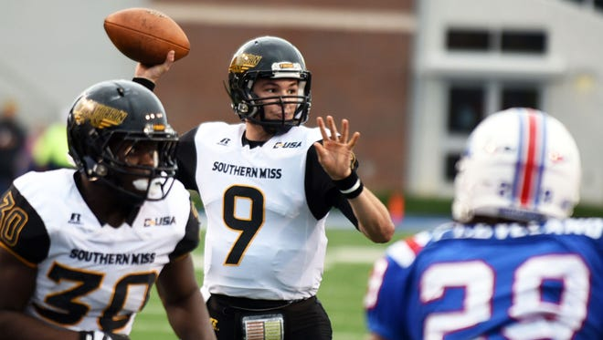Quarterback Nick Mullens and Southern Miss will play Western Kentucky for the Conference USA championship on Saturday.