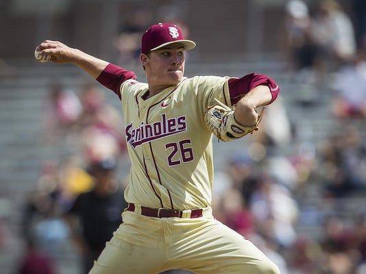 FSU pitching Sands