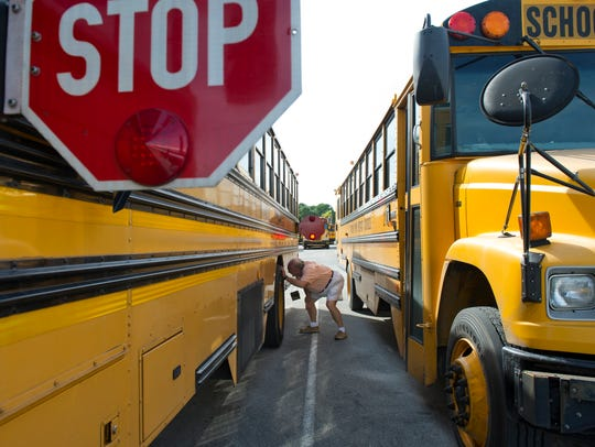 File photo, Indian River County Schools buses