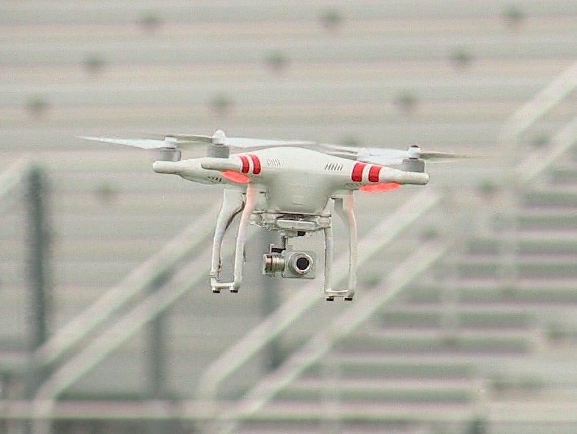 Garron Weeks uses drones to capture impressive video.
