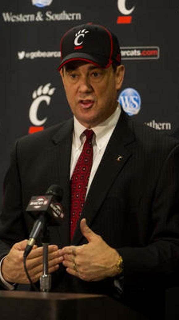 UC athletic director Mike Bohn said the school is exploring