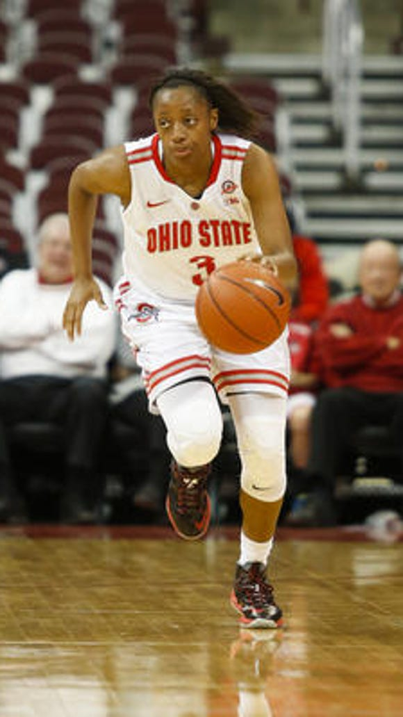 Kelsey Mitchell is just the third Ohio State women's basketball player to receive AP Preseason All-America honors.