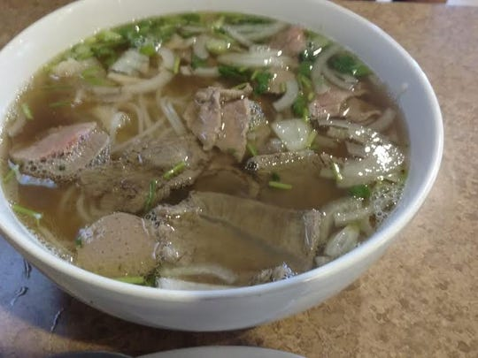 Pho Soup at Fawn's Asian Cuisine.