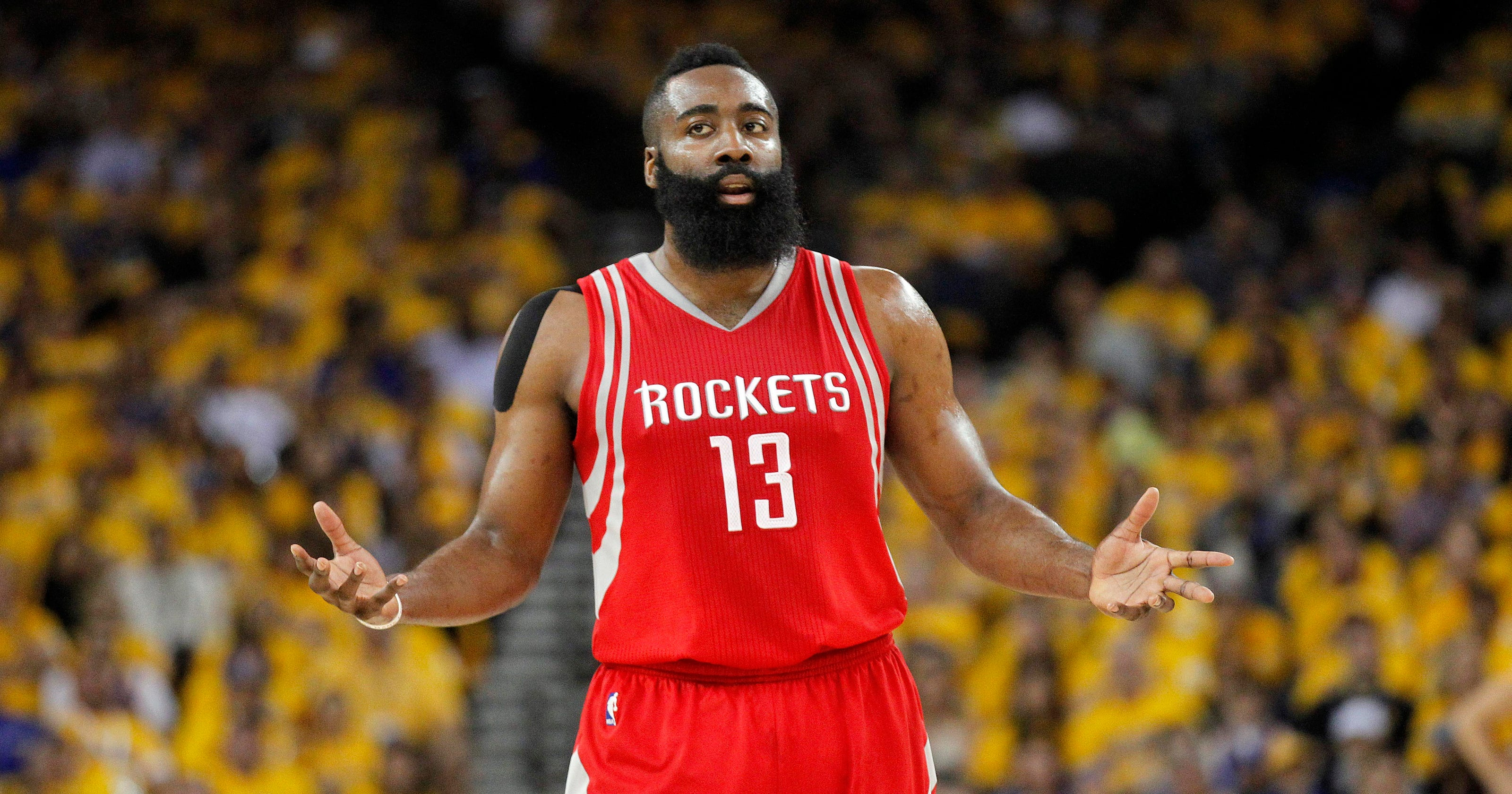 4faeeff57e3 James Harden  From players  choice MVP to All-NBA absence