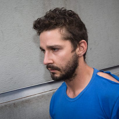 Actor Shia LaBeouf was arrested on charges of criminal trespass and misconduct Thursday evening after causing a disruption at a performance of the Broadway show 'Cabaret.'
