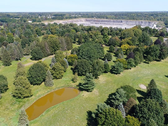 The former Shadow Pines golf course was built on a quarry and is owned by the Town of Penfield.