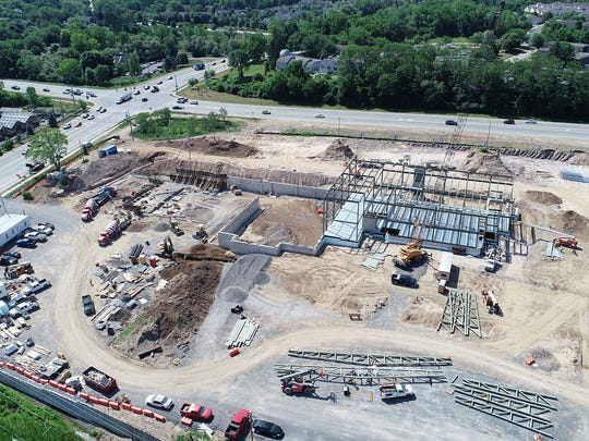 The new Pittsford YMCA starts to take shape July 13,