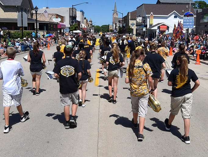 The 31st annual Shanty Days drew thousands of parade
