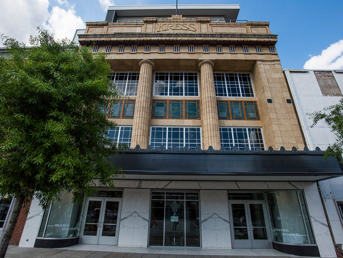 The Kress building in Montgomery, Ala., on Tuesday