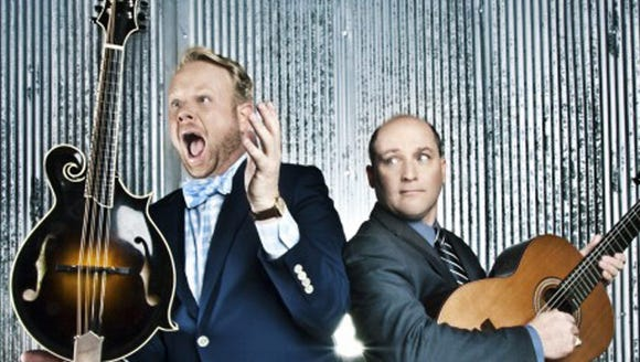 Dailey & Vincent play bluegrass May 18 at the Admiral.