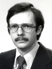 Corning Inc. Vice Chairman James Flaws when he joined the company in 1973.