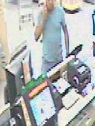 Police are looking for this man they say was involved in a lottery scam.