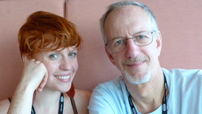 """Father and daughter David and Anna Haas collaborated on a YouTube project to upload family home movies that date to the 1920's. David, a teaching physician at Vanderbilt University in Nashville, found dozens of his father's and grandfather's films in his boyhood Suffern home. Anna, a singer-songwriter, was inspired by one of the films -- featuring her grandparents' wedding -- to write the song, """"Find Your Home."""""""
