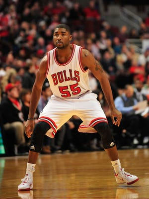 Bulls guard E'Twaun Moore is playing just 6.7 minutes a game this season.