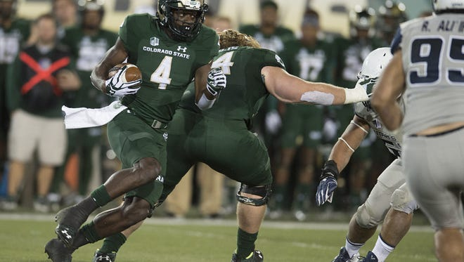 The CSU football team averaged 35 points per game last season, in large part because of Michael Gallup's 1,272 receiving yards and 14 touchdowns.