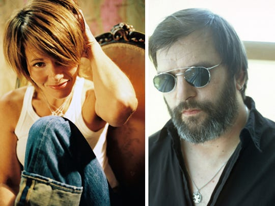 Musicians Shawn Colvin and Steve Earle join forces for a tour that will stop at Hilbert Circle Theatre this weekend.