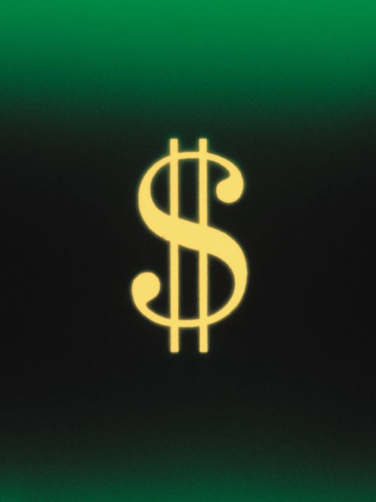 GREEN DOLLAR ILLUSTRATION