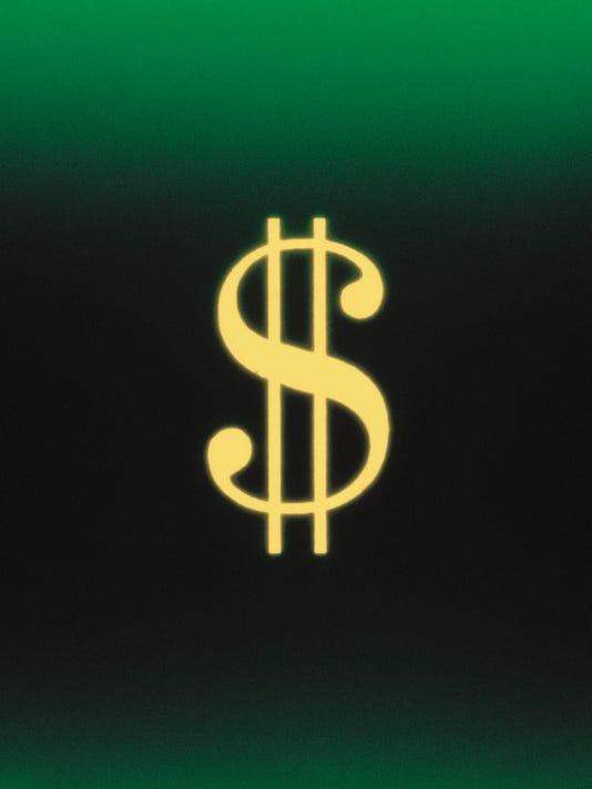 GREEN DOLLAR ILLUSTRATION