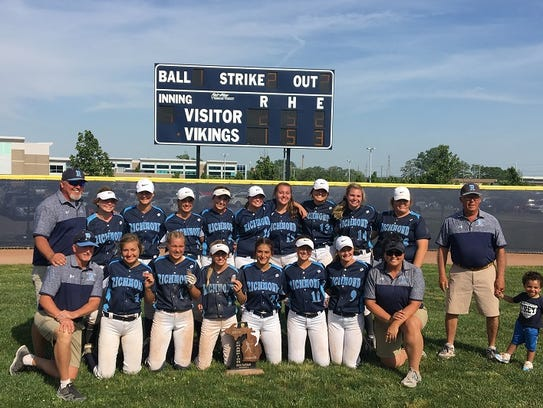 The Richmond softball team is headed back to the state