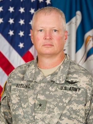 Brigadier General Barry D. Keeling