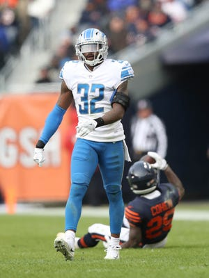 Tavon Wilson in a game against the Bears in Chicago on Nov. 19.