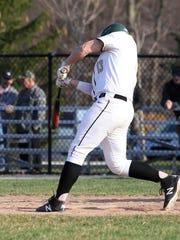 Howell's Brandon Maki hits the game-winning two-run