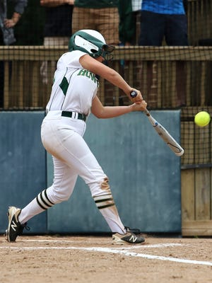 Sydney Pezzoni leads Howell with a .478 batting average.
