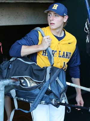 Max Hendricks was a four-year starter for Hartland, helping the Eagles win the state baseball championship as a freshman.