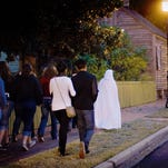 Caribe Marina is hosting ghost tours from 7 to 8 p.m. today in Orange Beach, Alabama.