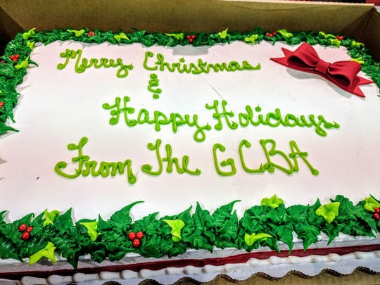 What's a holiday celebration without a scrumptious cake?