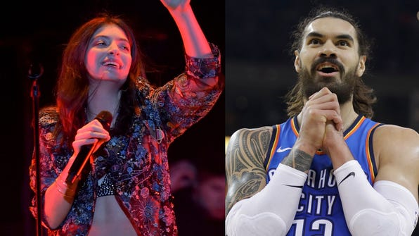 Lorde and Steven Adams are both from New Zealand.