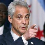 In this Dec. 30, 2015 filr photo, Chicago Mayor Rahm Emanuel speaks in Chicago.