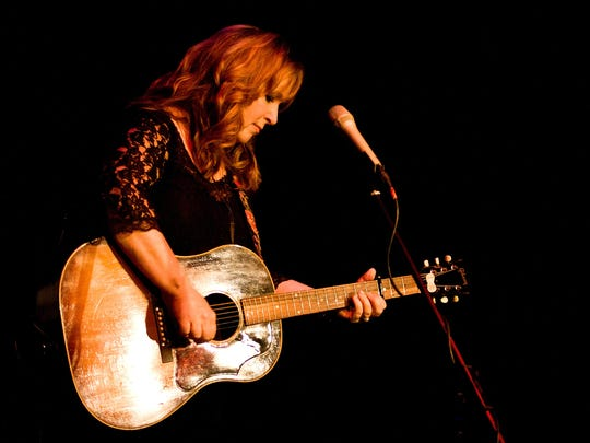 """Nashville Songwriters Hall of Famer Gretchen Peters releases new album """"Dancing with the Beast"""" on May 18."""