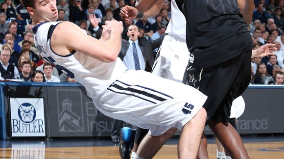 Butler freshman Andrew Chrabascz has provided the Bulldogs with valuable minutes off the bench.