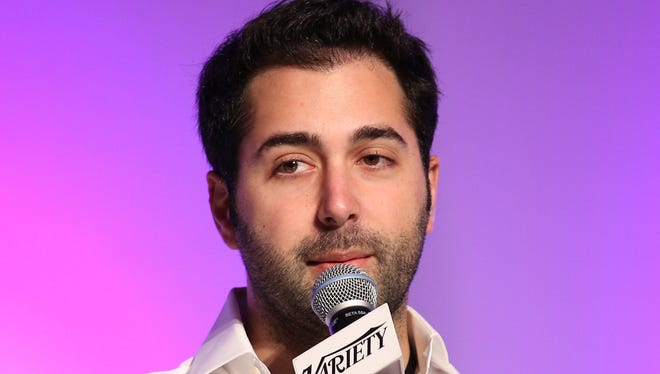 Tinder's Justin Mateen attends Variety's Spring 2014 Entertainment and Technology Summit in May. The company's co-founder and chief marketing officer has left Tinder after the settlement of a sexual harassment lawsuit.