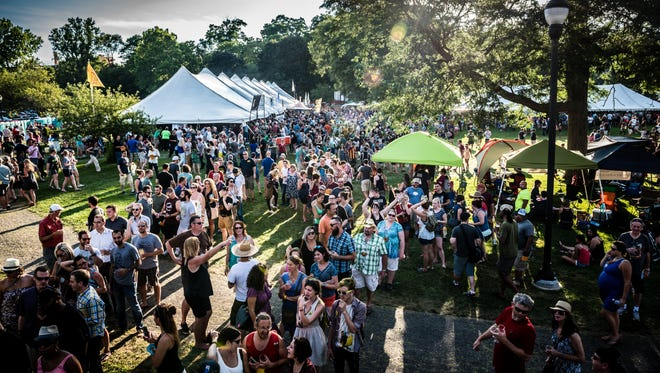 The Michigan Brewers Guild's Summer Beer Festival is the state's largest event of its kind and was held Friday, July 24, and Saturday, July 25, 2015 at Riverside Park in Ypsilanti. The two-day festival featured more than 900 craft beers from more than 100 Michigan-based breweries.