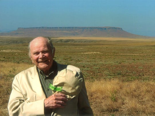 Leo Baldwin, 97, grew up in Fort Shaw.