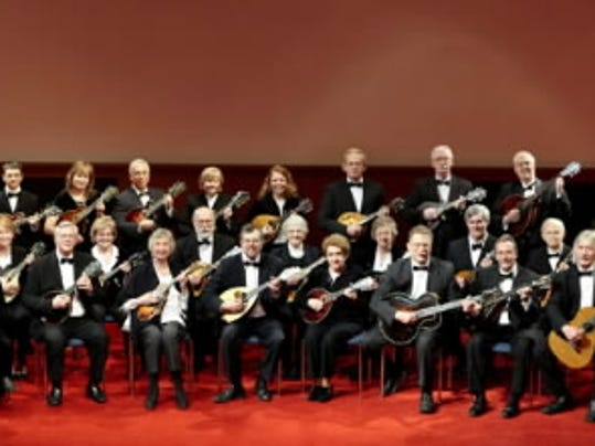 The Baltimore Mandolin Orchestra includes 40 members, who range in age from 14 to older than 70.